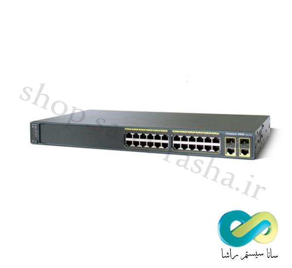 Switch Cisco WS-C2960-24TC-L-1